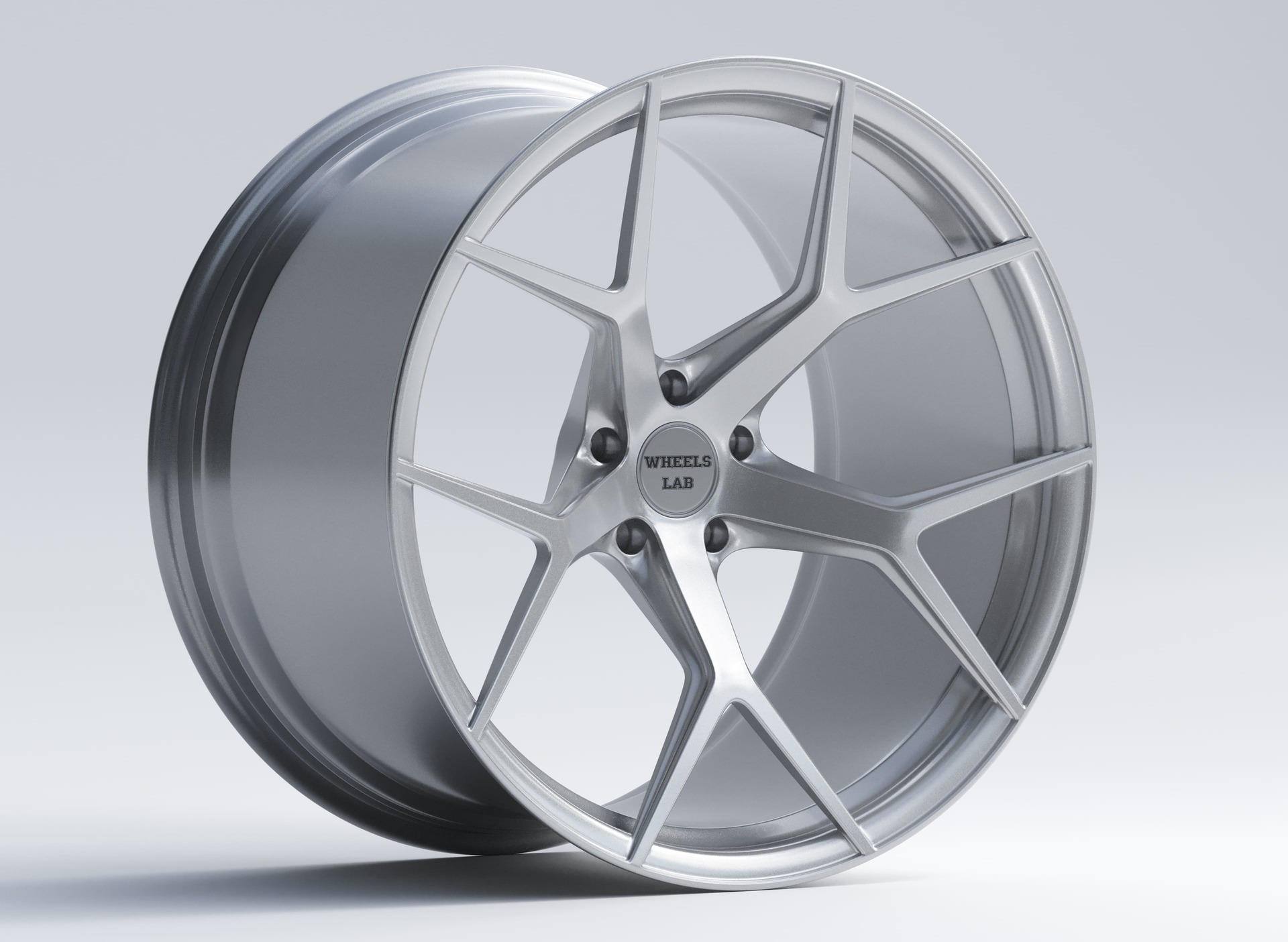 wheels lab lf7 gloss silver